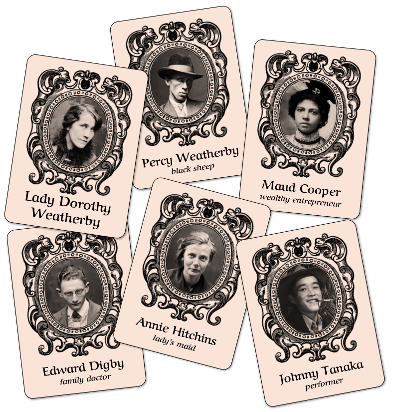 Portrait cards