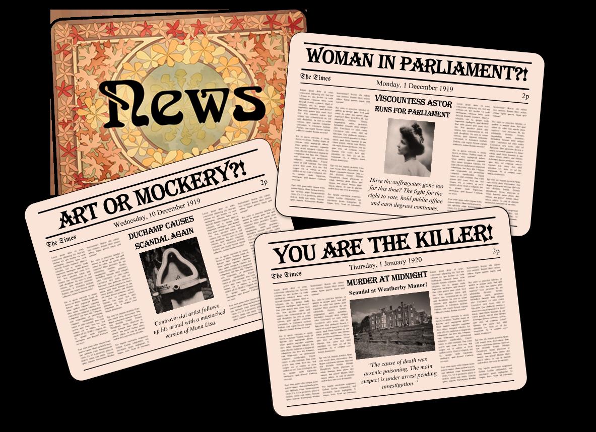 News cards